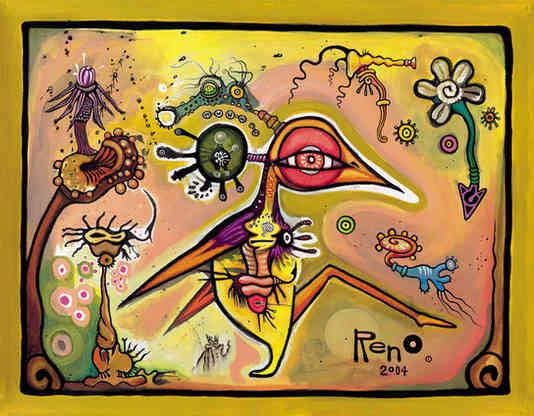 """Experimentica: Bird, Life, Love"" 2004"