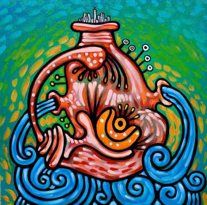 """""""The Flow Below"""" 2010"""