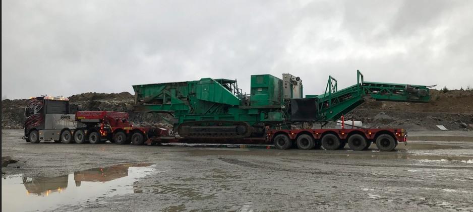 Transport av Krossverk