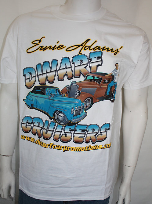 Dwarf Cruisers T-Shirt - Double Down (White)