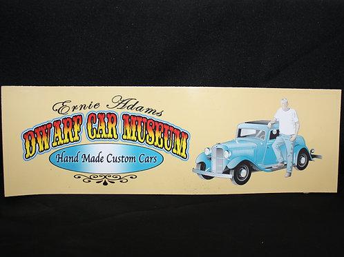 Dwarf Car Museum Bumper Sticker