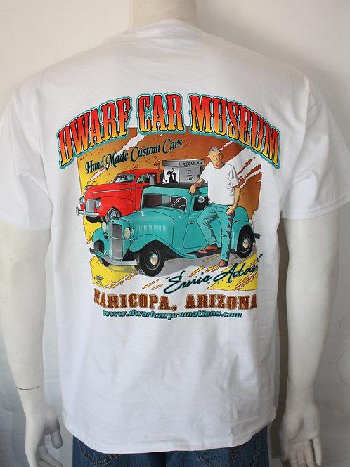 Dwarf Car Museum T-shirt (White)
