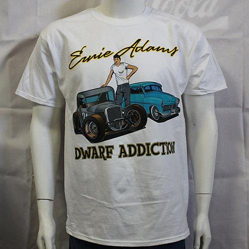 Dwarf Car Addiction T-Shirt (White)