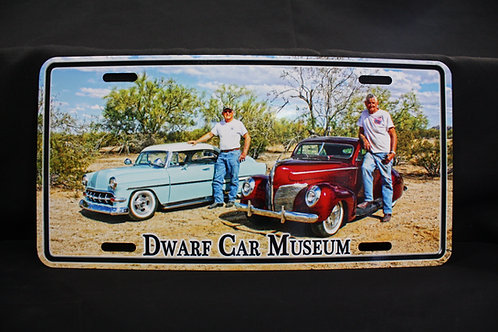 Dwarf Car License Plate #3