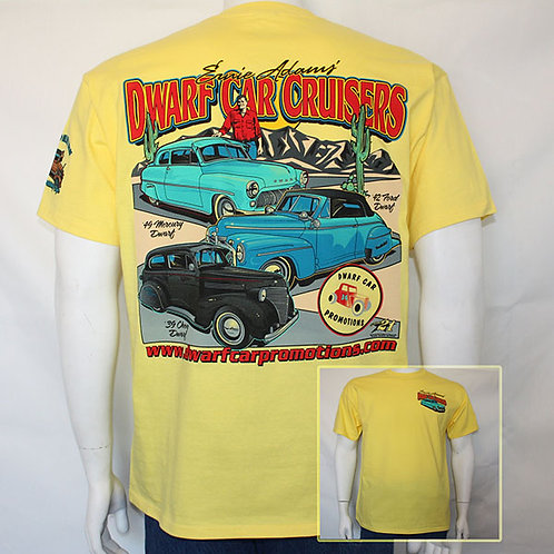 Dwarf Cruiser T-Shirts (Yellow)