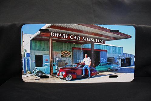Dwarf Car License Plate #1