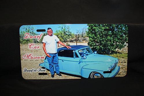 Dwarf Car License Plate #6