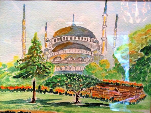 Blue Mosque, Turkey