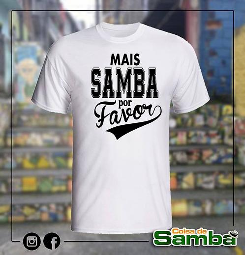 Mais samba por favor - Branca Algodão