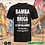 Thumbnail: Samba no Chão Black - Algodão