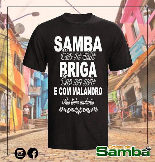 Samba no Chão Black - Algodão