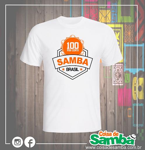 100% Samba Brasil 1 - Algodão