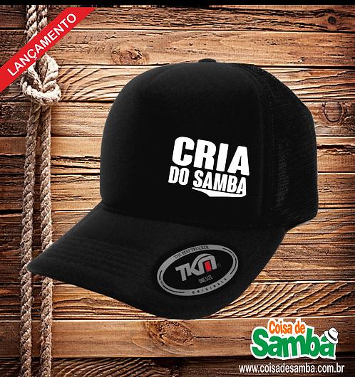 Boné Trucker - Cria do Samba