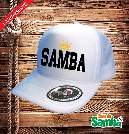 Boné Trucker - Samba Coroa