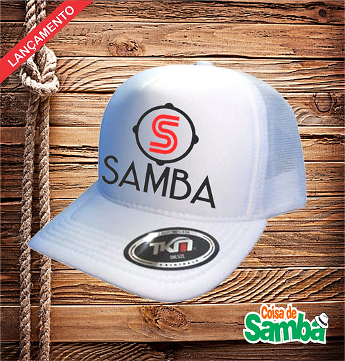 Boné Trucker - S de Samba