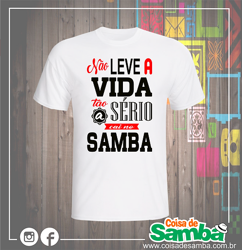 Cai no Samba1 - Algodão