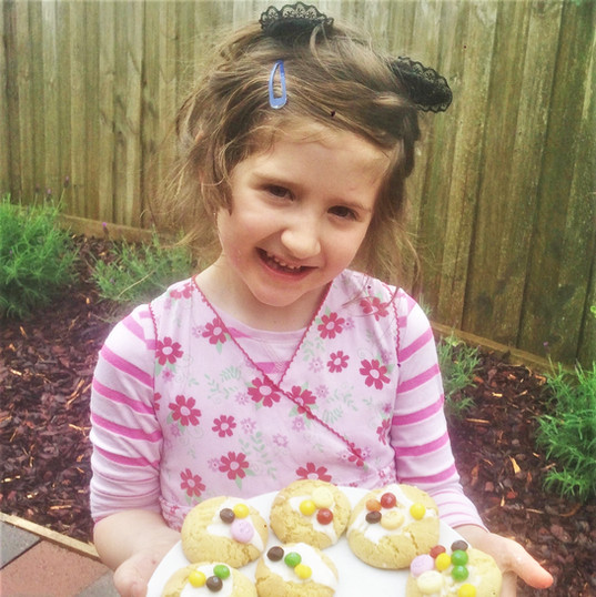 Sofia and Her Cookies!