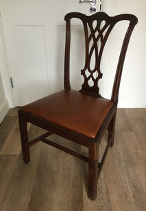 Dining Chair Upholstery from Monteith Brown