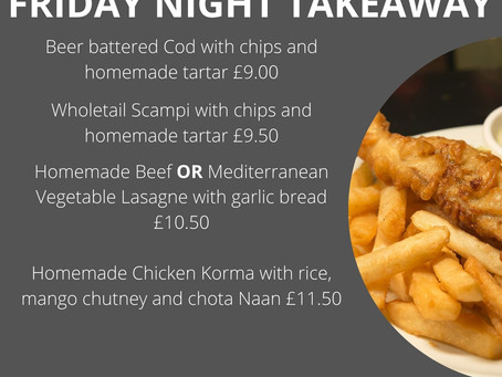 Friday night takeaway Friday 12th March