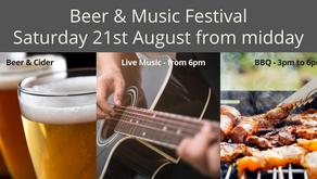 BEER & MUSIC FESTIVAL