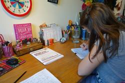 Female pupil at Target Tutoring