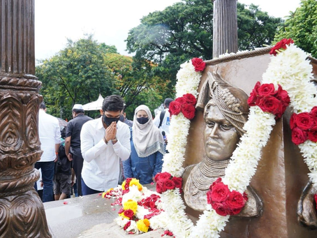 मराठा क्रांती मूक आंदोलनात पालकमंत्री ना. सतेज (बंटी) डी. पाटील साहेबांसोबत सहभागी होऊन पाठिंबा दिला