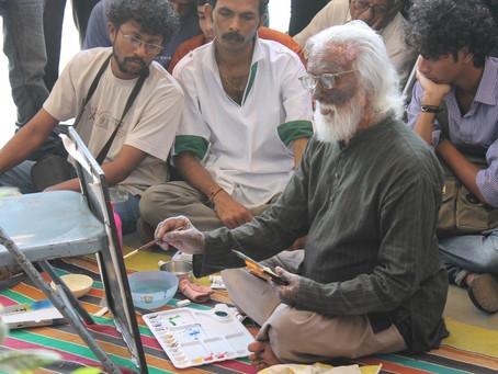 कोल्हापुरातील जेष्ठ चित्रकार, शिल्पकार, काष्ठ शिल्पकार बी.आर.टोपकरजी यांचे वृद्धापकाळाने दुःखद निधन