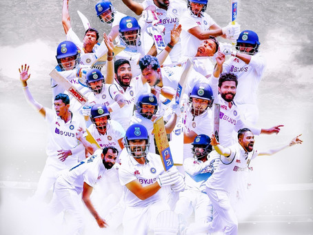 Congratulations #TeamIndia & fantastic Captain @Ajinkyarahane for this historic win.