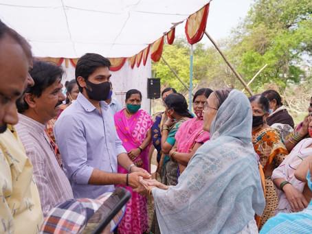 रामानंदनगर येथील 'वसंतराव जाधव पार्क मधील ओपन स्पेसची जागा हस्तातरणचा लोकार्पण सोहळा' संपन्न झाला.