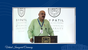 Virtual Inauguration Ceremony of D.Y.Patil Agriculture And Technical University, Talasande...
