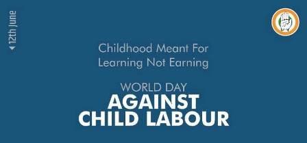 बालकांचे निरागस आयुष्य वाचवूया !बालमजुरीला आळा घालूया !जागतिक बालकामगार विरोधी दिन.