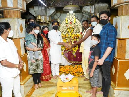 काल बऱ्याच दिवसांनी सहपरिवार कराडजवळील श्री क्षेत्र खंडोबा (पाली) मंदिराला जाण्याचा योग आला...