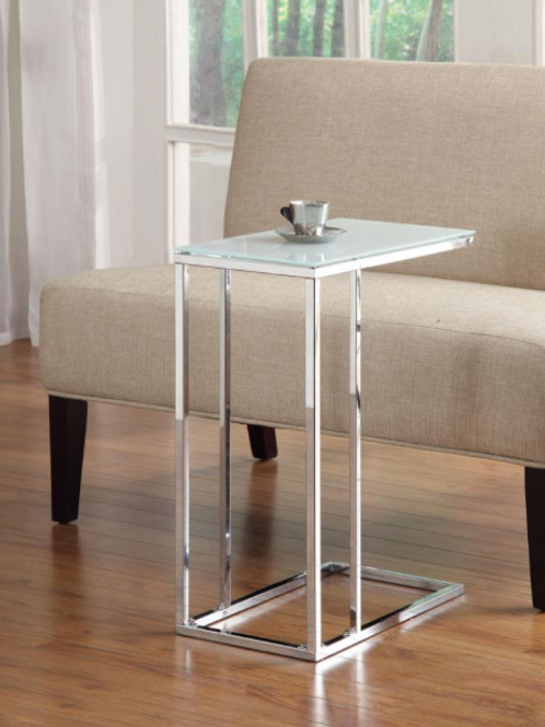 Chrome Snack Table