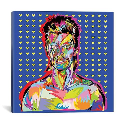 Bowie by TECHNODROME1 Canvas Print