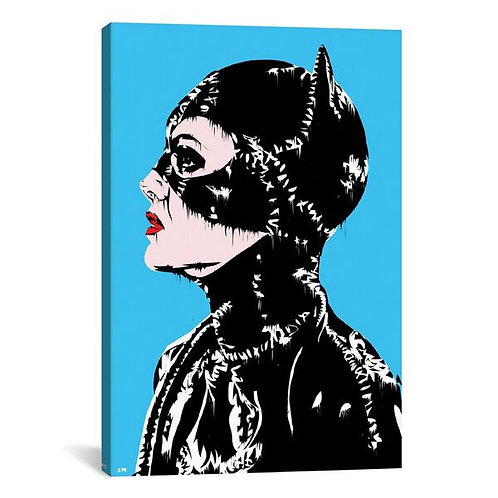 Catwoman by TECHNODROME1 Canvas Print