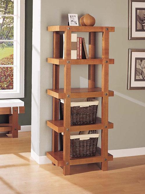 Mocha Brown 5 Tier Shelf