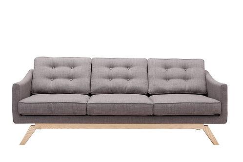 Grey Linen Sofa