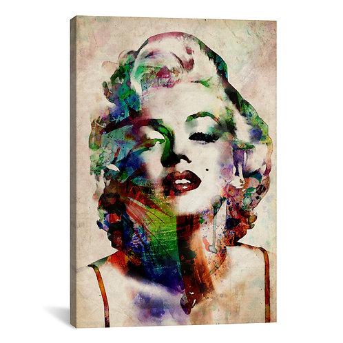 Watercolor Marilyn Monroe