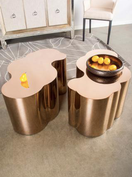 KATE GOLD COFFEE TABLE (single table)