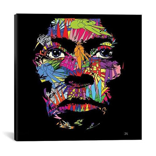 Miles Davis by TECHNODROME1 Canvas Print