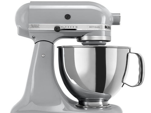 Kitchen Aid 5 qt. Artisan Series - Metallic Chrome
