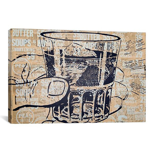 Sippin by Kyle Mosher Canvas Print