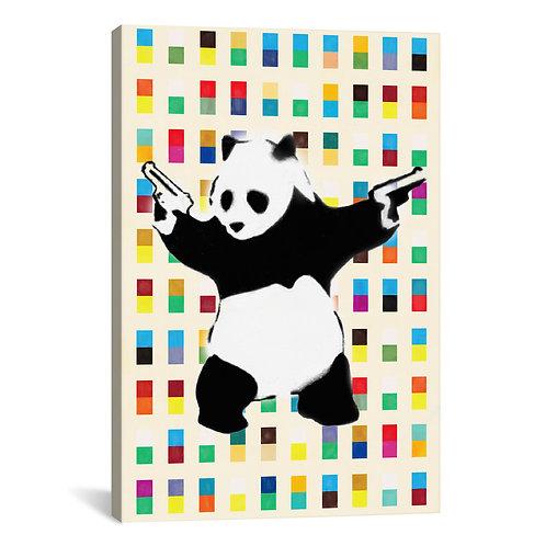 Panda with Guns Bright Dots