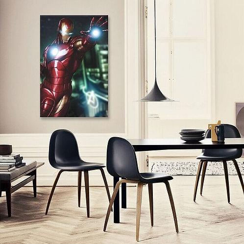 Tony Stark aka Iron Man by Marvel Comics Canvas Print