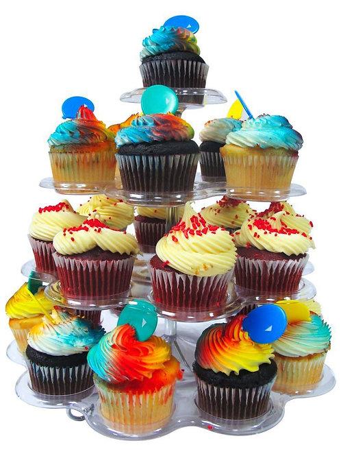(4) Tier Acrylic Cupcake Stand