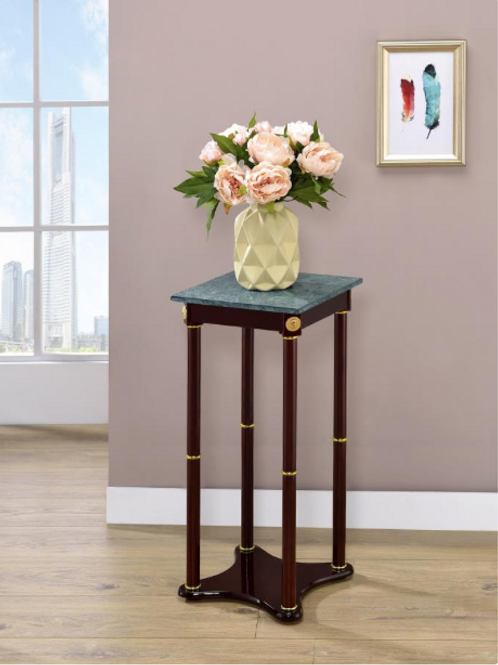 Stone Top Accent Table