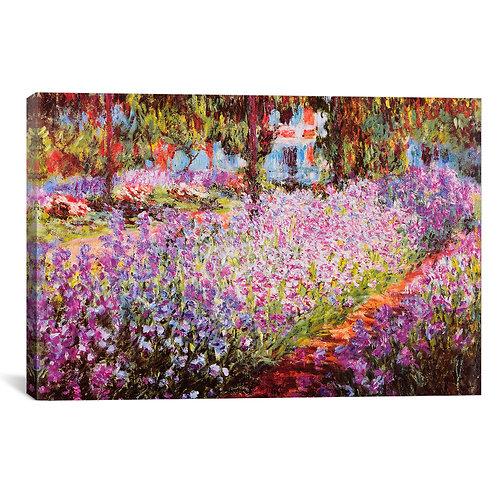 Jardin De Giverny by Claude Monet