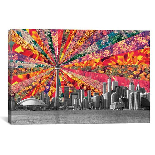 Blooming Toronto by Bianca Green Canvas Print