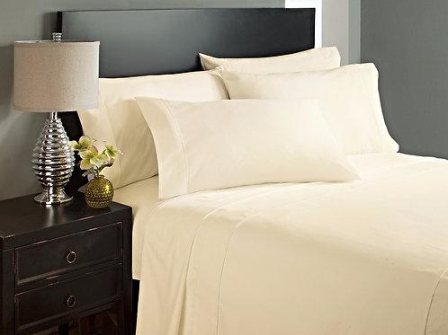 Cream Bed Sheet Set