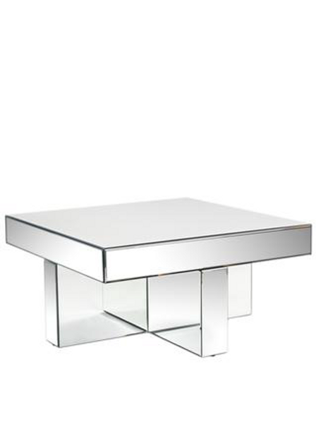 LUCY MIRRORED COFFEE TABLE